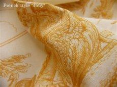 画像3: 「取寄せ」布:復刻版tdj四季の喜び(トワル、白ベースイエロー)長さ50cm単位 /160g (3)
