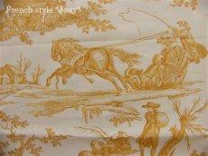 画像8: 「取寄せ」布:復刻版tdj四季の喜び(トワル、白ベースイエロー)長さ50cm単位 /160g (8)