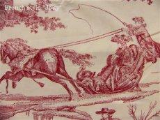 画像8: 「取寄せ」布:復刻版tdj四季の喜び(トワル、白ベース赤)長さ50cm単位 /160g (8)