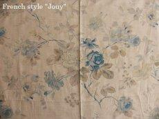 画像1: 「即納J/F」布:フルールマノン(シャンブレーブルー)長さ50cm単位 /80g (1)