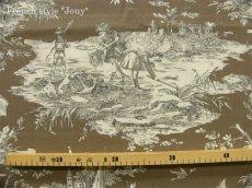 画像3: 「即納F」はぎれ70×50:水の物語(トープ) /95g (3)
