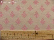 画像4: 「J即納/F在庫」布:ラトゥナ(ベージュベースピンク)長さ50cm単位 (4)
