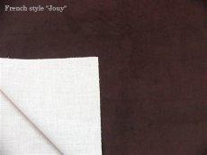 画像1: 「取寄せ」布:スウィートラヴ(色番34)ベルベット黒 /590g (1)