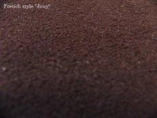 画像5: 「取寄せ」布:スウィートラヴ(色番34)ベルベット黒 /590g (5)