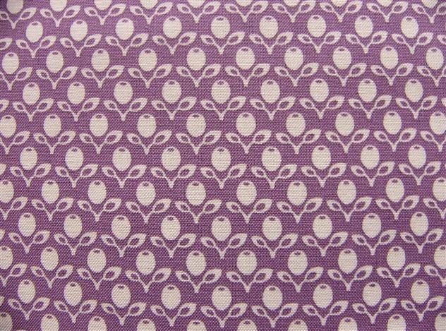 画像1: 「即納F」はぎれ72x50:フレンチガーデン(紫) /65g (1)