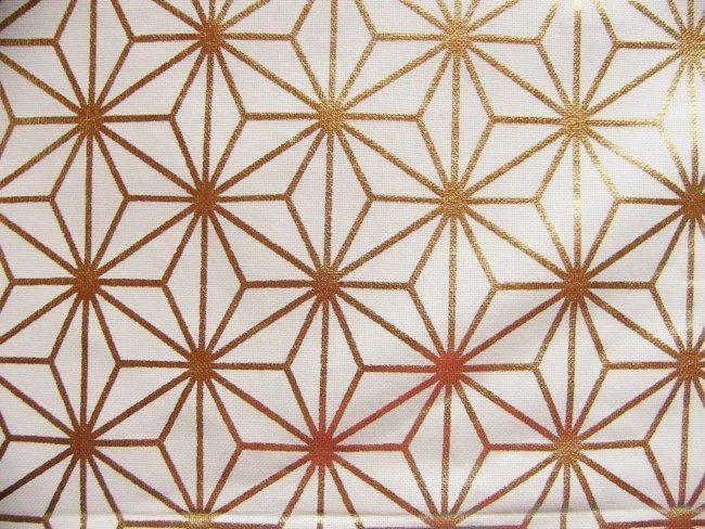 画像1: 「即納F」はぎれ70x42:エトワール・ドレ(ホワイトベースゴールド)/85g (1)