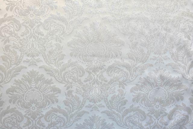 画像1: 「即納J/F」はぎれ70x50:グラン・リシュリュー(ジャカード、シルバーラメ)/115g (1)