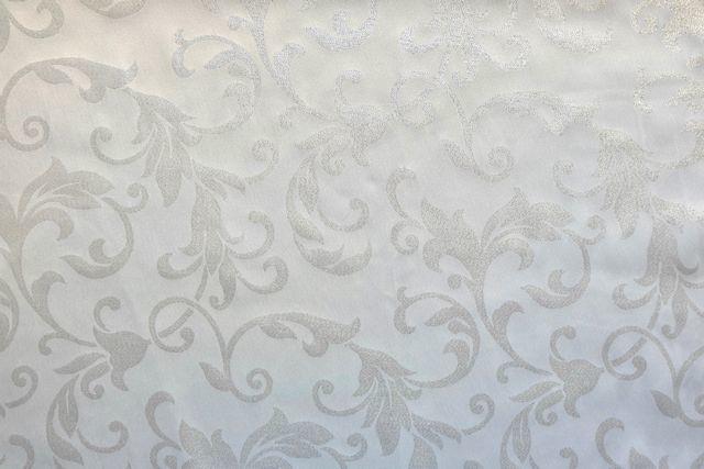 画像1: 「即納J」はぎれ70x49:グラン・オーヌモン(ジャカード、シルバーラメ)/115g (1)