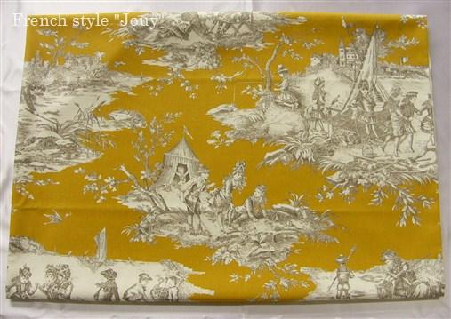 画像1: 「即納J」はぎれ70×50:水の物語(マスタード) /95g (1)