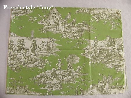 画像1: 「即納J」はぎれ70×50:水の物語(ピスタチオベース) /95g (1)
