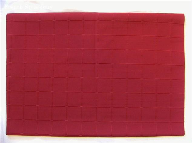 画像1: 「即納F」廃盤はぎれ70×50:イシス(色番40)ボルドー /100g (1)