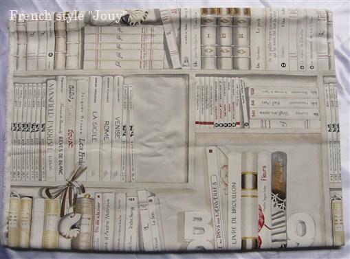 画像1: 「即納F」はぎれ70×50:本棚(クリーム) /95g (1)