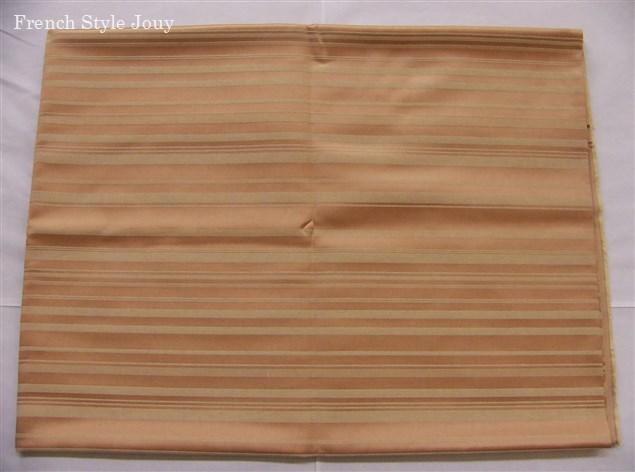 画像1: 「即納F」廃盤はぎれ70x50:ラシオ(ストライプ、ライトブラウン) /100g (1)