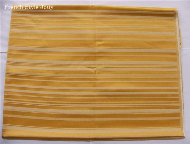 画像1: 「即納F」はぎれ70x50:ラシオ(ストライプ、ゴールド) /100g (1)