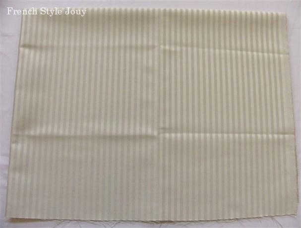 画像1: 「即納F」はぎれ70x50:オルレアン(ストライプ、単色パールグレイ) /135g (1)