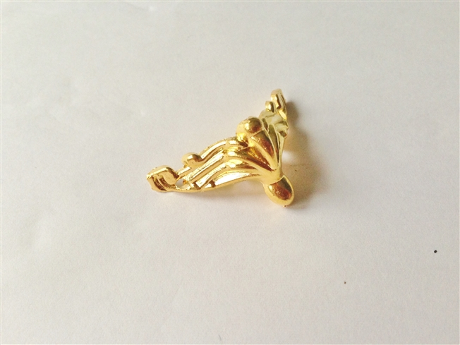 画像1: 「即納J」【4点セット】猫脚(小):エグル(ゴールド)/80g (1)