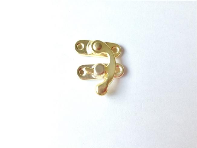 画像1: 「即納J/F」留め金具(薄板)ゴールド/10g (1)