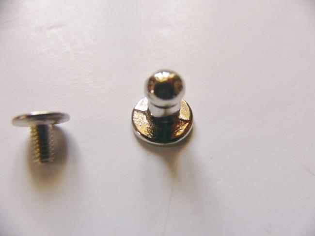 画像1: 「即納F」つまみ金具5mmシルバー/10g (1)