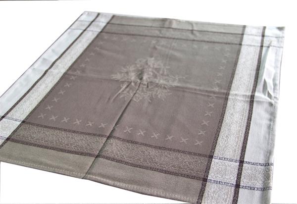 画像1: 「即納J」テーブルナプキン2枚セット:コティニャック(トープ) /130g (1)
