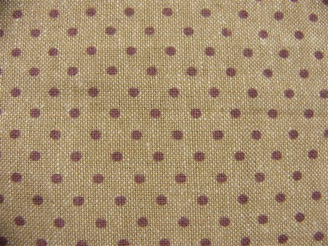 画像1: 「F在庫」布:ドッツ(シャンブレー紫)長さ50cm単位 (1)