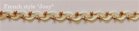 画像1: 「即納F」ブレードB波型1cm(ホワイト・ベージュ) /6g (1)