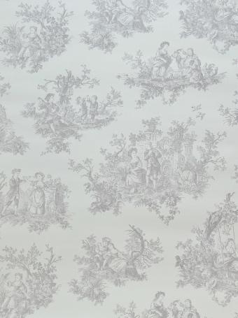 画像1: 【送料込み】「即納F」壁紙:tdjプロヴァンス(グレイ)10m巻き /1400g (1)