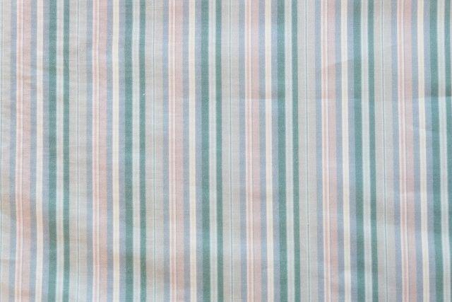 画像1: 「即納J」布:STOFベルエポック9(ストライプ、ブルーグリーン)長さ50cm単位 /75g (1)