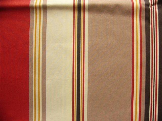 画像1: 「取寄せ」布:撥水加工パステル(赤・ベージュ)長さ50cm単位 /180g (1)