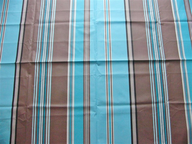 画像1: 「取寄せ」布:撥水加工パステル(ブルー・ブラウン)長さ50cm単位 /180g (1)