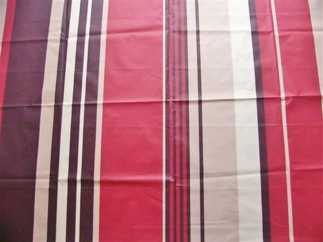 画像1: 「取寄せ」布:撥水加工シロッコ(ブラウン・赤)長さ50cm単位 /180g (1)