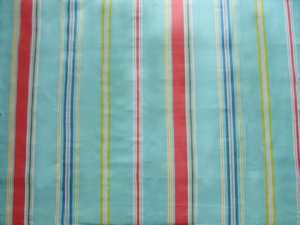 画像1: 「取寄せ」布:撥水加工パステル(水色・赤)長さ50cm単位 /180g (1)