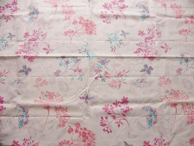 画像1: 「取寄せ」布:撥水加工グラミネ(クリームベースピンク) 長さ50cm単位 /160g (1)