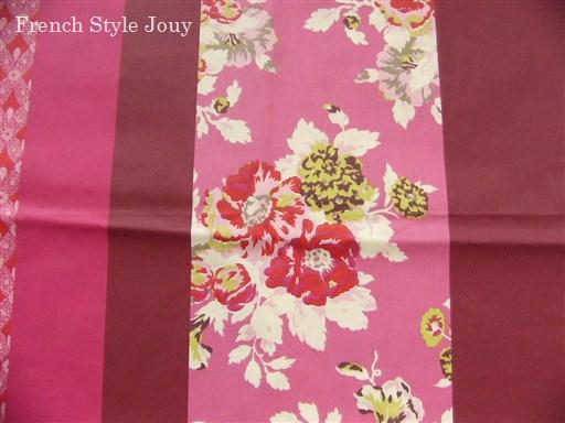画像1: 「取寄せ」布:撥水加工ボヘミアン(ピンク) 長さ50cm単位 /180g (1)