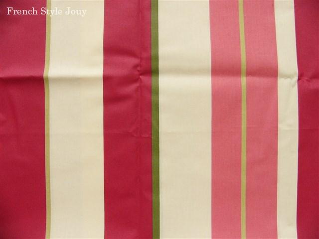画像1: 「取寄せ」布:撥水加工リズム(ピンク)長さ50cm単位 /180g (1)