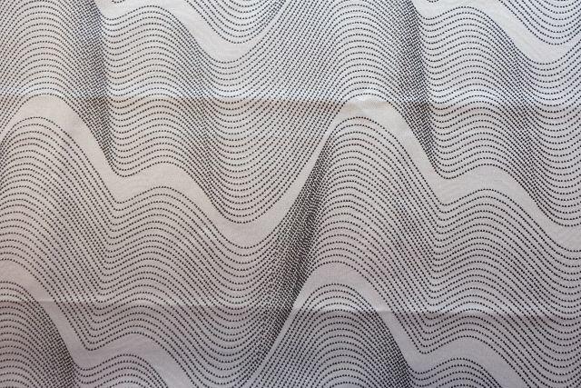 画像1: 「即納J」はぎれ70×50:アンブラン(ジャカード、グレイ)/115g (1)
