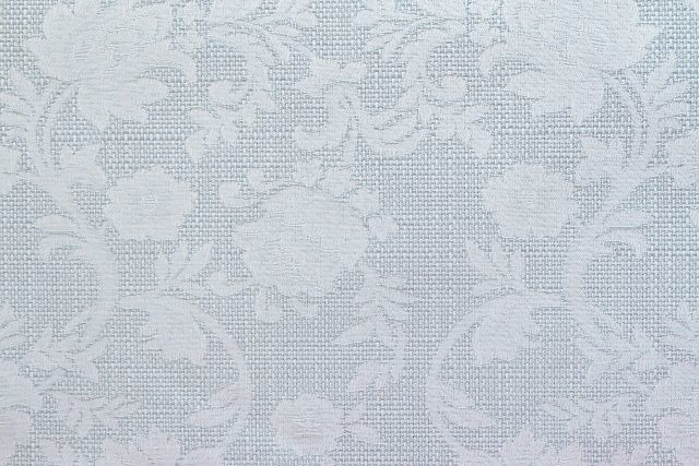 画像1: 「即納F」はぎれ80×50:ジャカード・フルール(パステルターコイズ) /110g (1)
