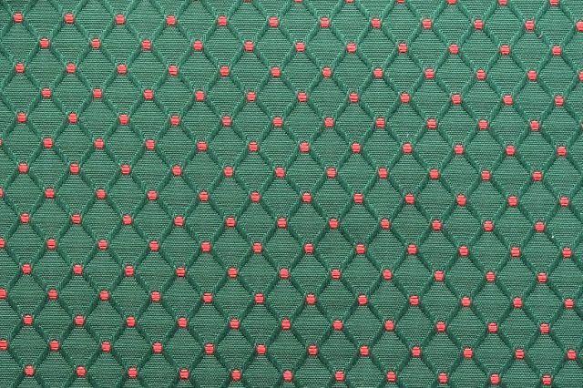 画像1: 「F在庫」はぎれ75x48:ワグナー(ジャカード、グリーンベースピンク)/150g (1)