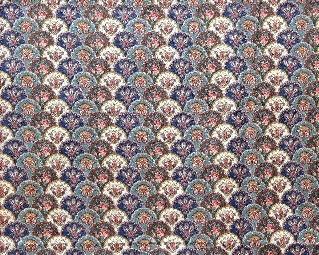 画像1: 「J即納」はぎれ55×50:プロヴァンシアル(ビンテージレトロ) /60g (1)