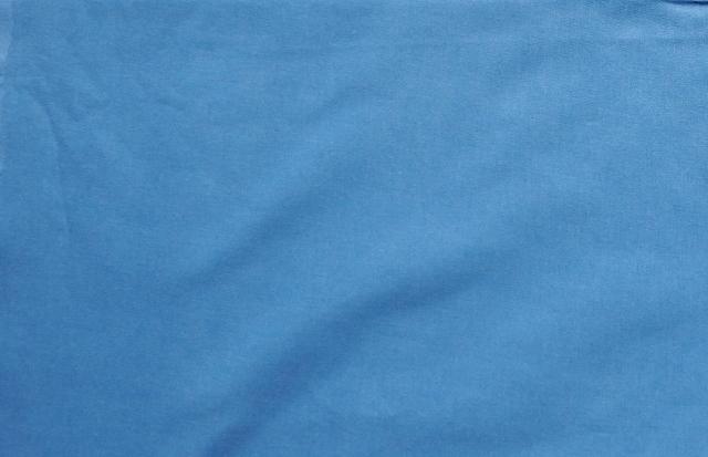 画像1: 「即納J」 はぎれ75×50:薄手コットン無地(色番52 ブルージーン)/75g (1)