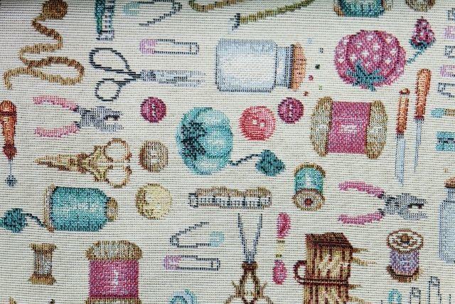 画像1: 「J即納」はぎれ70×48:ゴブラン織り アルシェ・ド・クチュール / 150g (1)