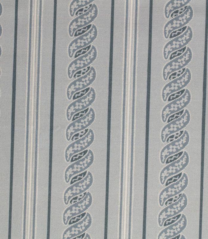 画像1: 「取寄せ」布:メネルベス(ストライプ、シルバー)/450g (1)
