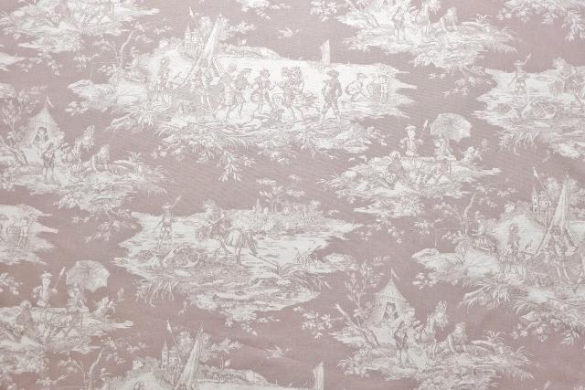 画像1: 「即納F」布:水の物語(ベージュベース) /380g (1)