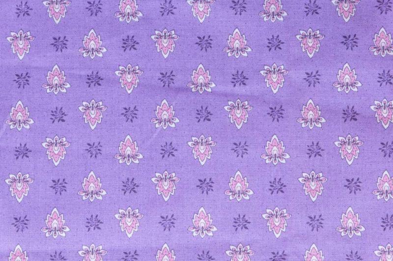 画像1: 「J即納」はぎれ80×50:アヴィニヨン(プロヴァンス風、ヴィオレ) (1)