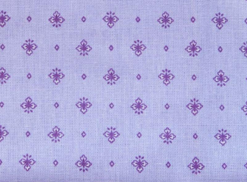 画像1: 「即納J」はぎれ80x50:グラース・ムーシュ(ラベンダーベース)/80g (1)