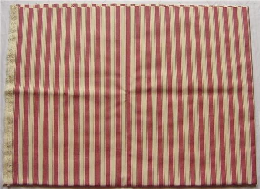 画像1: 「即納F」はぎれ70×50:ルーアン(ストライプ、ボルドー)/ 95g (1)