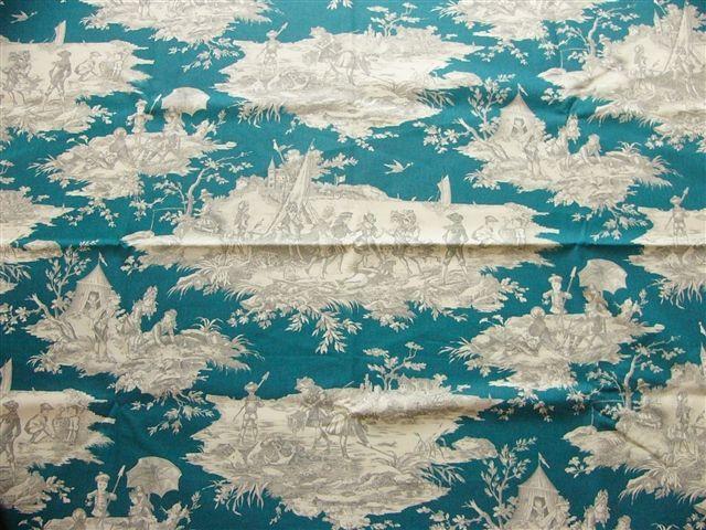 画像1: 「取寄せ」布:水の物語(ブルーグリンベースグレイ) / 380g (1)
