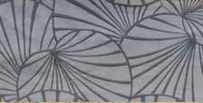 画像1: 「取寄せ」布:睡蓮(グレイ) / 475g (1)