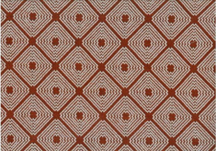 画像1: 「取寄せ」布:ロレンザッチオ(ジャカード、テラコッタ)/720g (1)