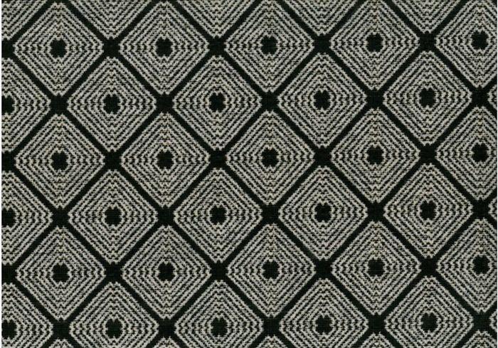 画像1: 「取寄せ」布:ロレンザッチオ(ジャカード、黒)/720g (1)