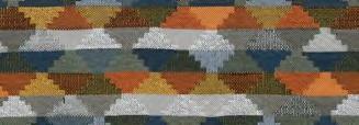 画像1: 「取寄せ」布:ティノ(ジャカード、マリンブルー・オレンジ・イエロー)/700g (1)